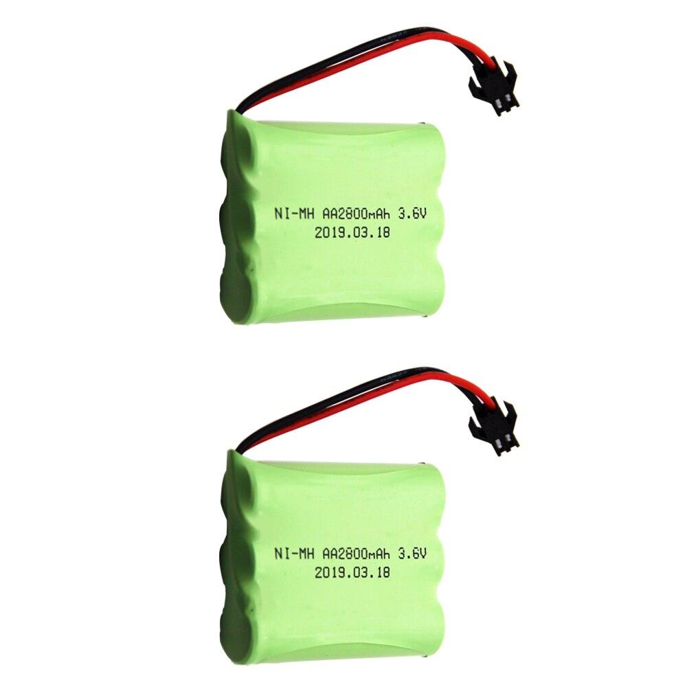 3,6 v 2800mah ni-mh batería 3,6 v batería 3,6 v pilas nimh...