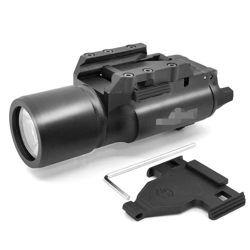 SOTAC-GEAR Tactical X300 LED Weapon Light Flashlight Pistol Gun Lanterna Rifle Picatinny 20mm Weaver Mount For Hunting Scope