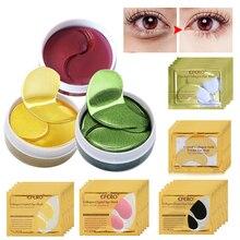 Par de mascarillas antiarrugas de colágeno de 20/30/60/90, Parche de Gel hidratante para Ojo de cristal, removedor de ojeras, parche debajo del ojo, cuidado de la piel