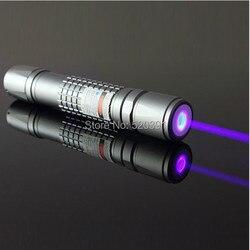 Лазерная указка, светодиодная фиолетовая, синяя, 2000 м, 40 нм