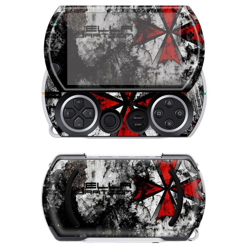 Livraison directe gratuite vinyle autocollant protecteur autocollant pour Sony PSP Go # TN-PGO-554
