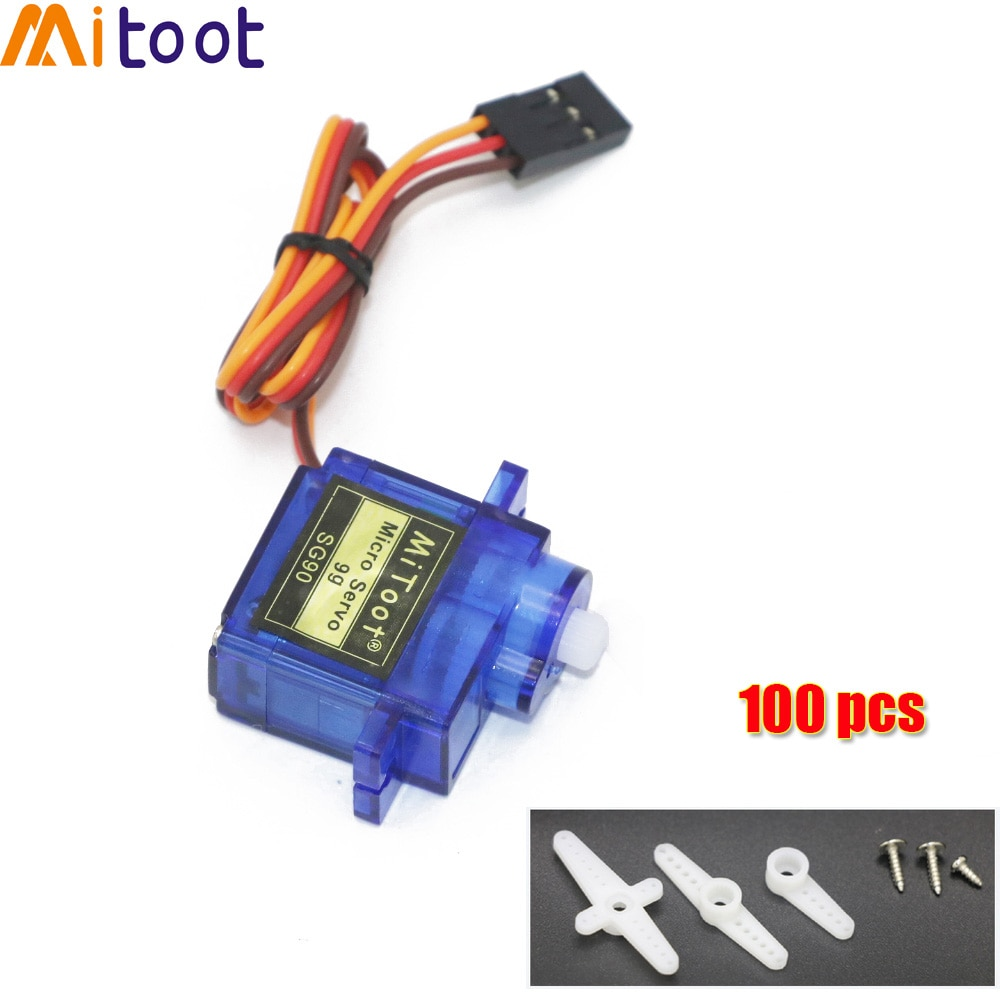 5 / 10/20/50/100 шт. SG90 9G микро Серводвигатель