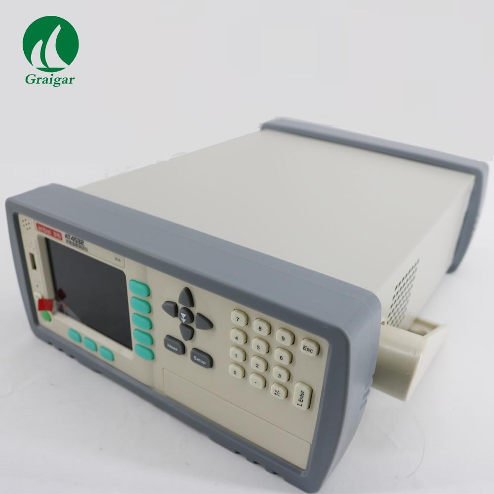 AT4532 טמפרטורת מטר 32 ערוצים J/K/T/E/S/N/B תרמי 0.1C רזולוציה