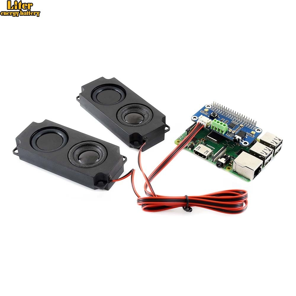 WM8960 Hi-Fi Sound Card HAT para Raspberry Pi Zero/Zero W/Zero WH/2B/3B/3B +, CODEC estéreo, Play/grabadora