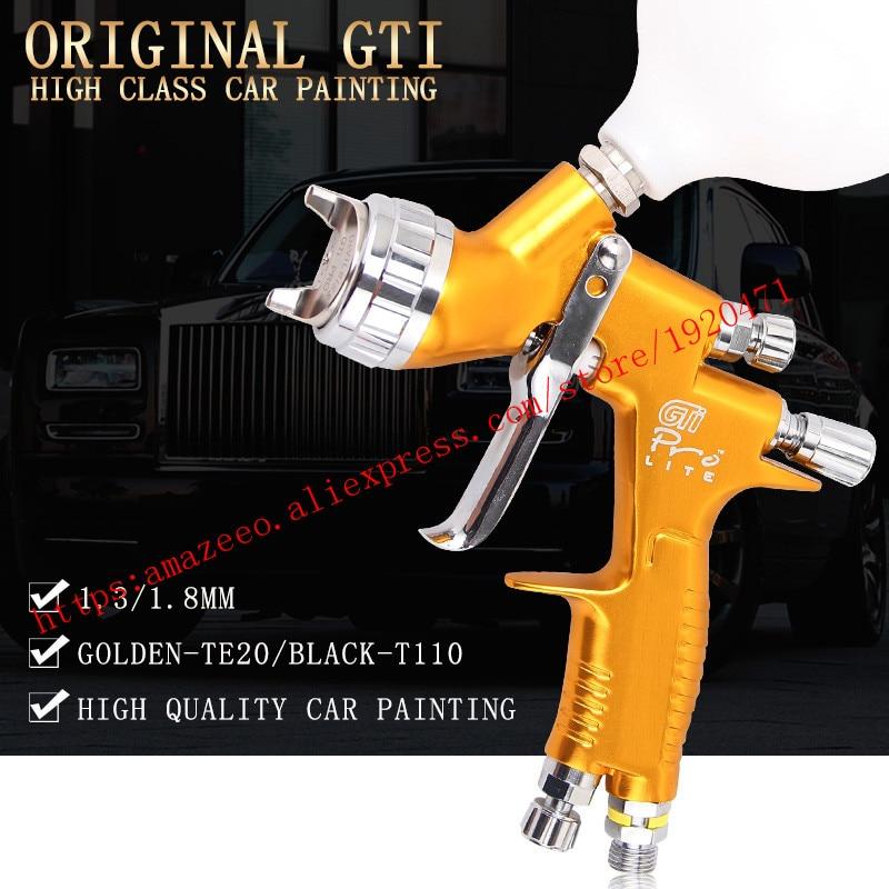 Pistola de spray lvmp profesional pistola de pintura GTI de pistola de pintura a base de agua automotriz armas Pintura de coches herramientas pistola de pintura