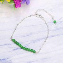 SEVENSTONE 2019 nouveau Reiki 4mm chaîne haricot perles Bracelet cadeaux pour les femmes mode guérison charme hommes Bracelets Snap bijoux