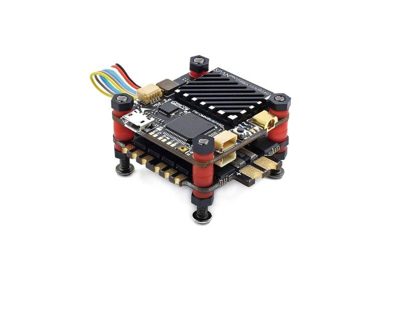 Upgrade 50A 3 S-6 S F4 Flight Controller 32Bit STM32F405 Gyro/Acc SPI 4IN1 ESC Dshot 150 /600/1200 w/LC Filter Für FPV RC Drone DIY