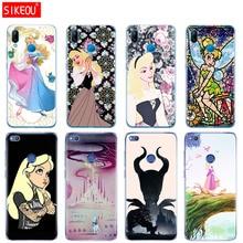 Funda de silicona para teléfono Huawei P20 P7 P8 P9 P10 Lite Plus Pro 2017 P Smart 2018 coque bumper para dormir bonitas para chicas Alice