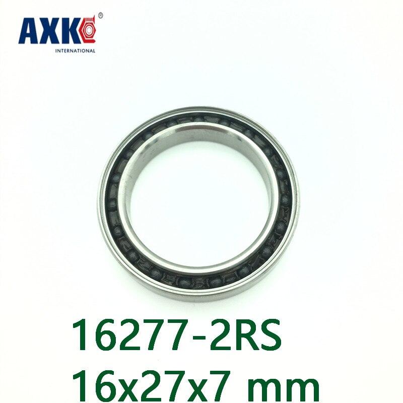 AXK 16277 rodamiento de cerámica híbrido 16x27x7mm ABEC-1 (1 PC) rodamientos inferiores...