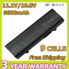 Apexway 6600mAh battery for Dell Latitude E5400 E5410 E5500 E5510 KM668 MT186 P858D RM649 T749D U116D W071D X064D