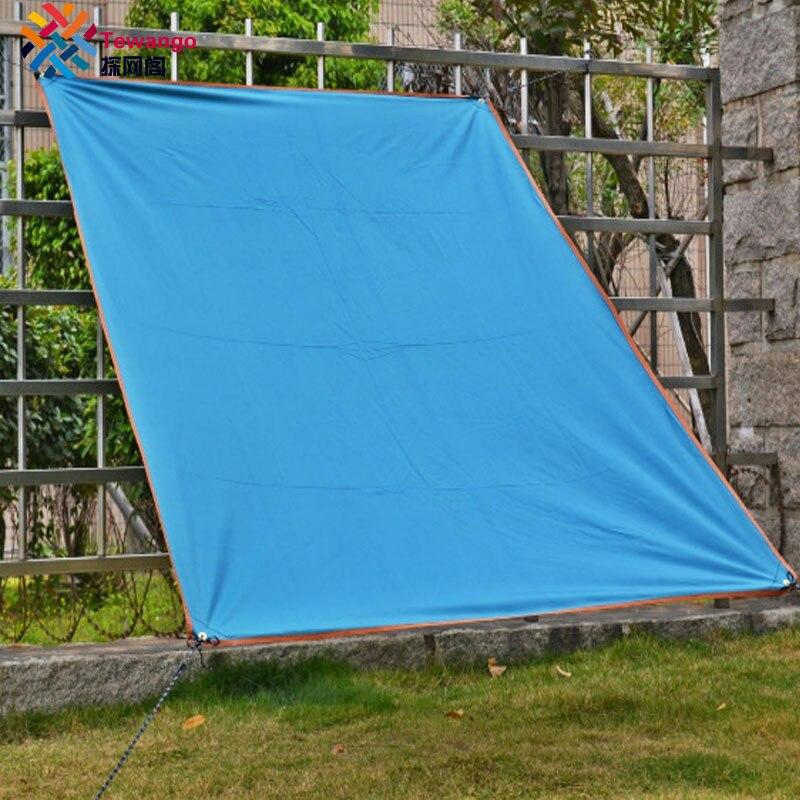 Tewango, estera de Picnic portátil para acampada, toldo impermeable de tela, toldo de toldo, toldo de toldo para playa al aire libre