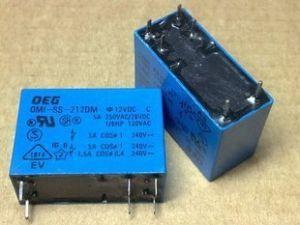 OEG OMI SS 212DM DC 12V 6pin 240VAC 24VDC relé de potencia