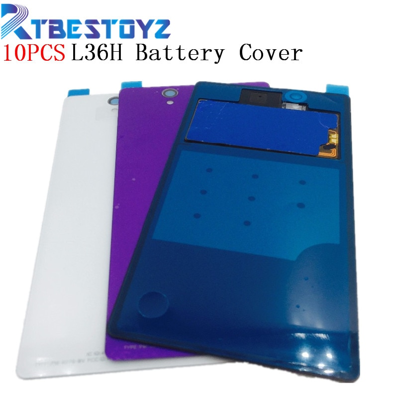 RTBESTOYZ 10 шт./лот аккумулятор NFC крышка задняя крышка стеклянная дверь с клеем, стикер для Sony Xperia Z L36H C6602 C6603 с NFC