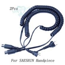 Cables de repuesto dentales, 2 uds., Micromotor para Marathon SAESHIN para SHIYANG