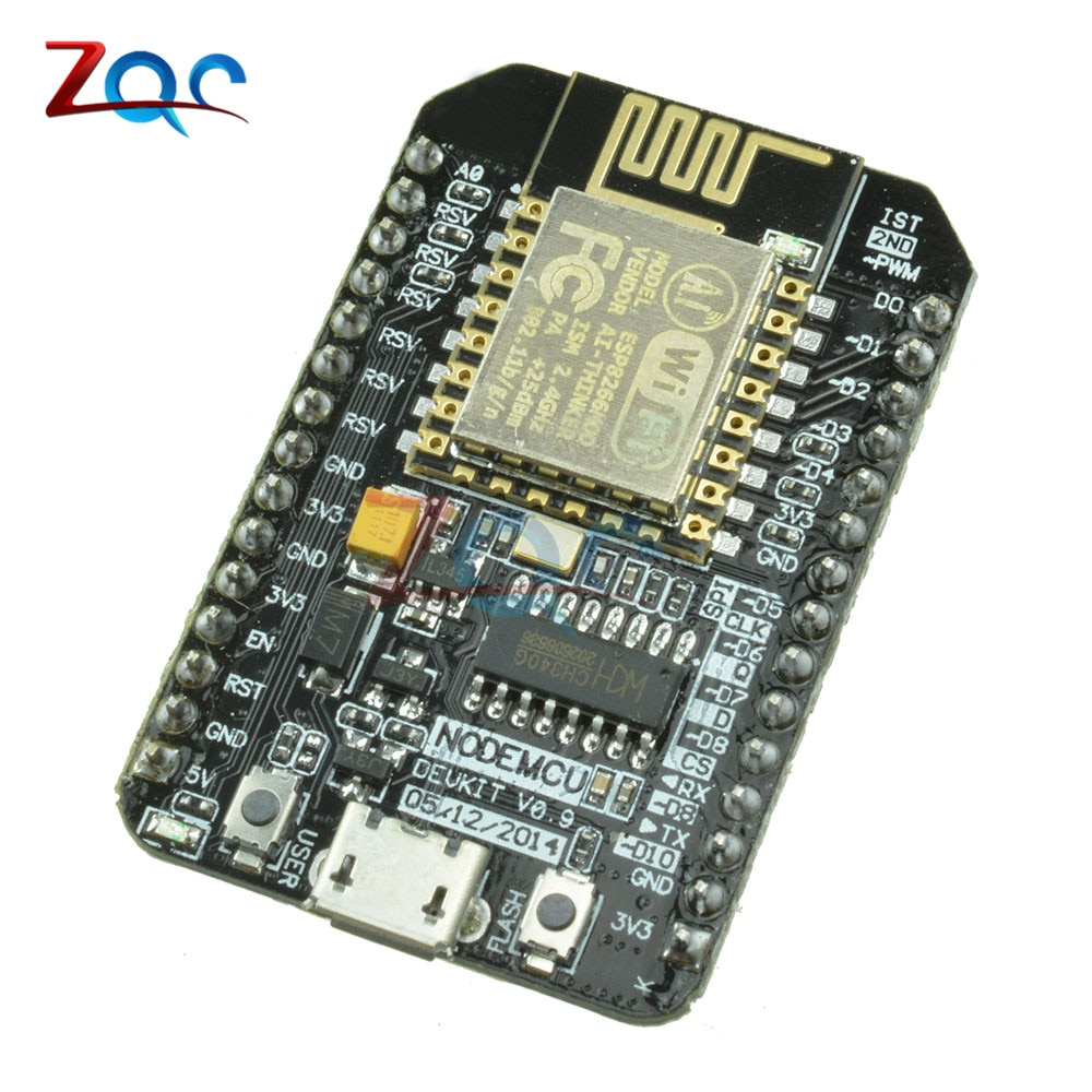 ESP8266 ESP-12E Nodemcu V3 CH340G CH340 Wireless Module WIFI Internet Of Things (IOT) Development Board Based W/ Micro USB