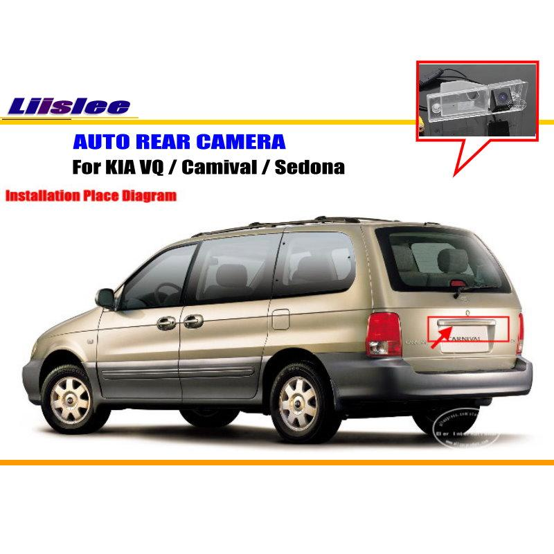 Автомобильная камера заднего вида для KIA VQ / Camival/Sedona, Автомобильная камера заднего вида, автомобильные аксессуары, автомобильная DVD-камера