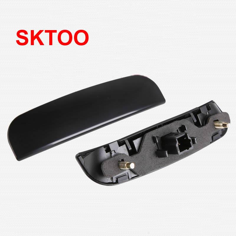Preto bagageira boot micro interruptor traseiro tronco porta grab lidar com interruptor para citroen c3 c4 c3 para peugeot 206 307 308 407 6554v5