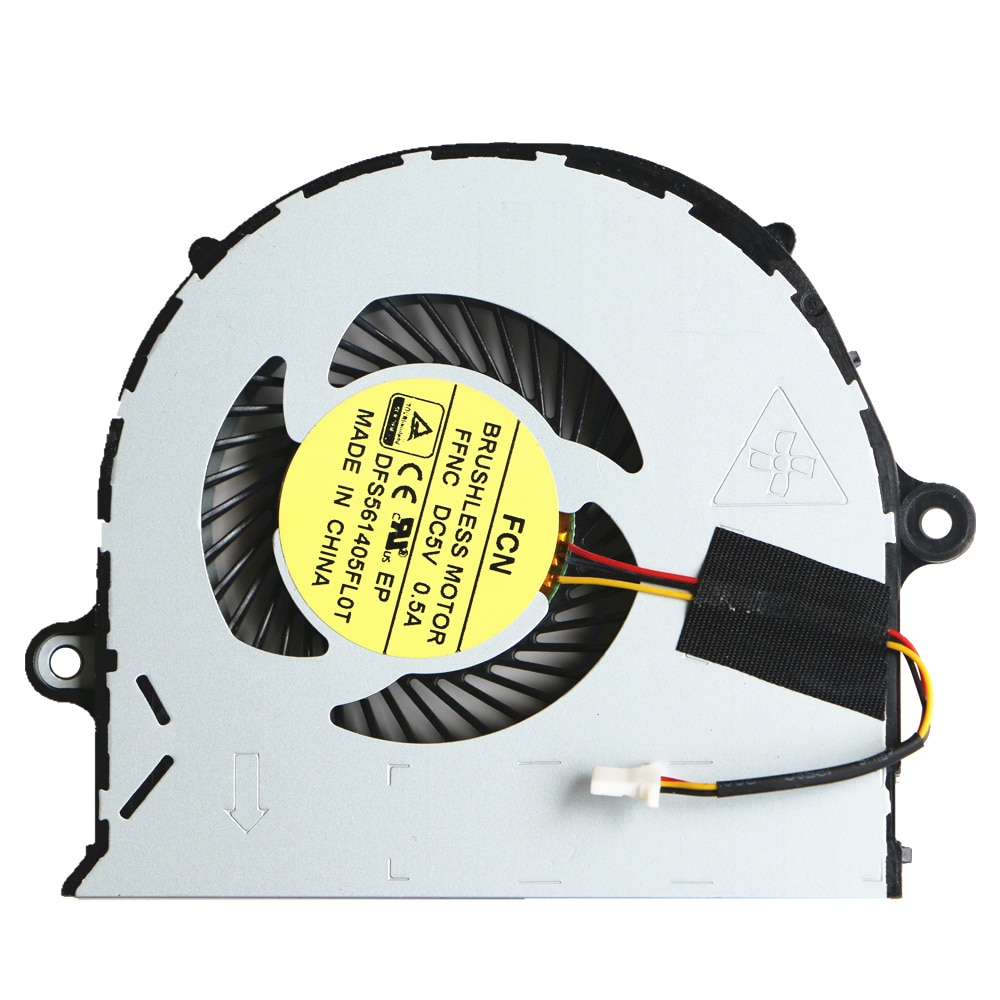 Вентилятор для ноутбука Acer Aspire, вентилятор для охлаждения процессора Acer Aspire E5-552, E5-571G, E5-571, E5-471G, E5-471, E5-473, E5-473G, P246, V3-572G, E5-573