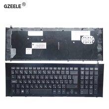 Clavier dordinateur portable russe GZEELE pour HP ProBook 4720 4720S RU mise en page avec cadre RU clavier dordinateur portable noir 90.4GL07.S0R, V112130BS1