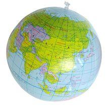 40CM gonflable monde Globe enseigner léducation géographie jouet PVC carte ballon ballon de plage enfants jouets sauter gonflable Globe jouet
