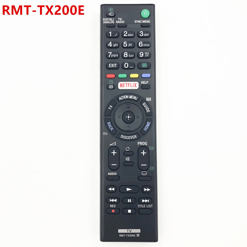 Замена RMT-TX200E дистанционного управления для SONY TV KD-55XD7005, KD-49XD7005B, KD-49XD7004, KD-49XD7005, KD-50SD8005, KD-55XD7004