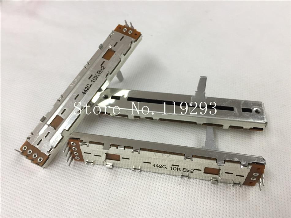 [BELLA] الأصلي اليابانية الألب خلاط الأصلي 8.8 سنتيمتر 88 مللي متر DJM500 600 800 الأفقي دفع مزدوجة B10K الجهد-10 قطعة/الوحدة