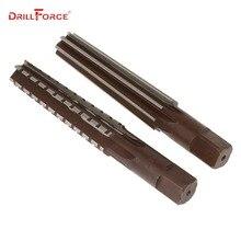 2 pièces/ensemble alésoirs à main ensemble MT0/MT1/MT2/MT3/MT4/MT5/MT6 acier fin/rugueux Morse alésoir conique pour outil de coupe de finition de fraisage