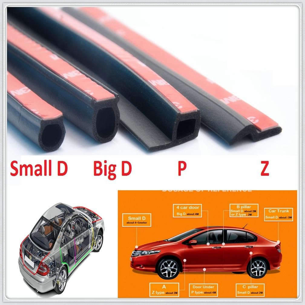 D Z P B Тип автомобиля резиновое уплотнение изоляции края двери уплотнительная лента для Honda Everus clearity Civic Accord Urban FCX Brio 3R-C