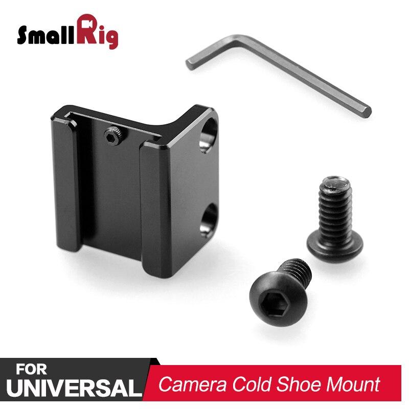 SmallRig DSLR Cámara adaptador de montura de zapata fría peso ligero para SmallRig L placa A7M3 L soporte 1593