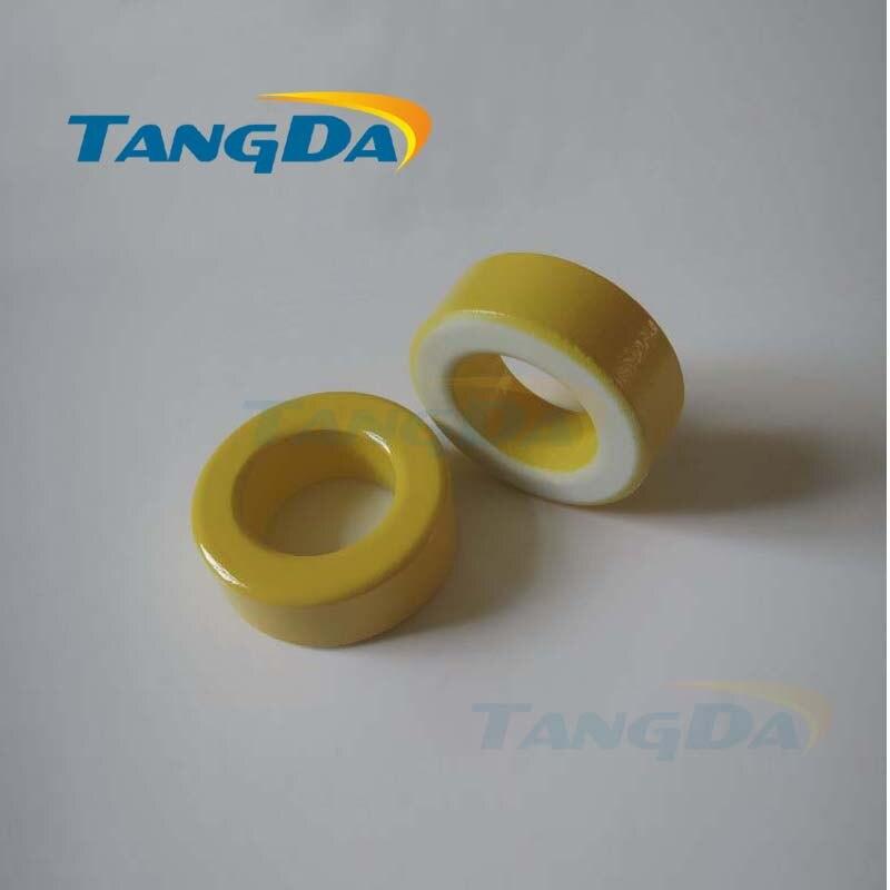 Tangda الحديد مسحوق النوى T94-26 OD * ID * HT 24*14*8mm 70nH/N2 75ue الحديد الغبار الأساسية الفريت حلقي حلقية الأساسية الأصفر الأبيض