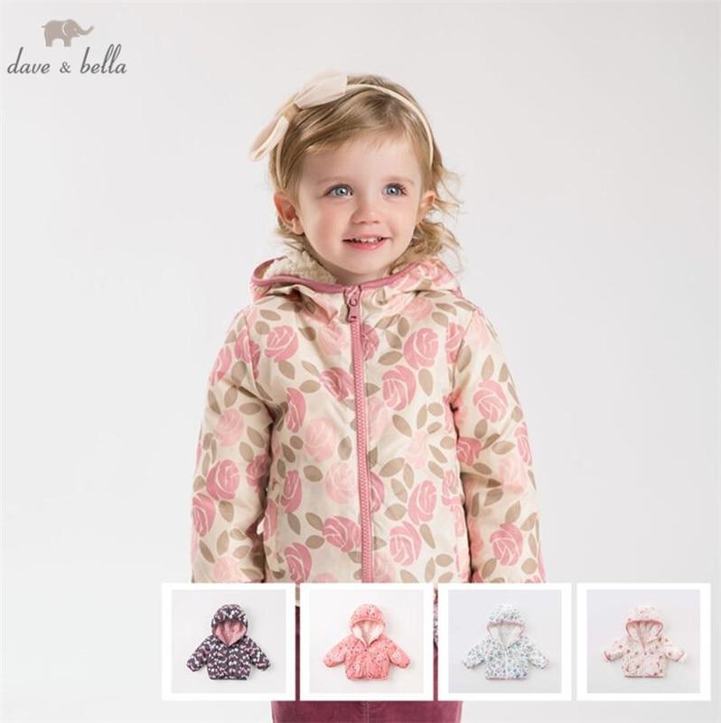 DB4258 سترة دافيبيلا للبنات, معطف خريفي متعدد الألوان للأطفال