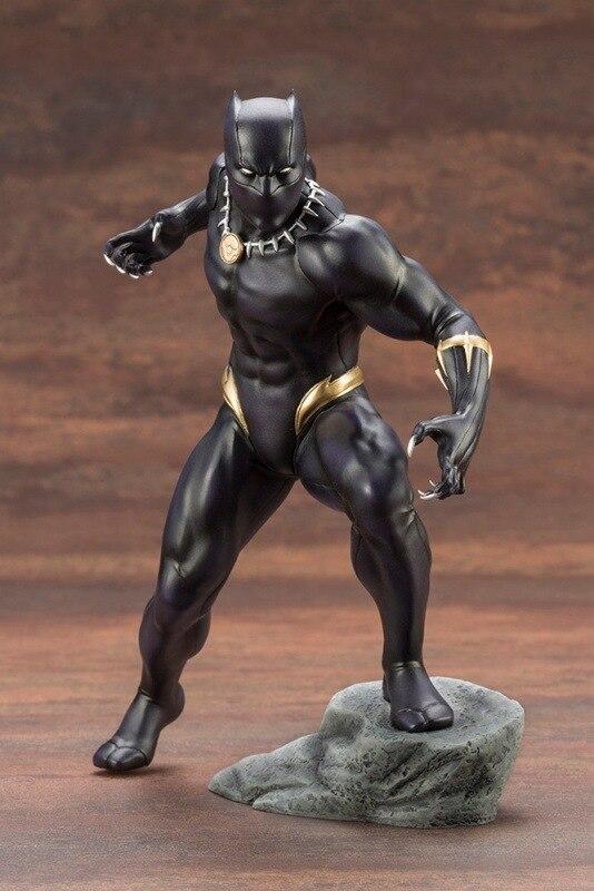 Kotobukiya Marvel Pantera Negra los Vengadores de 18cm figuras de acción de juguete