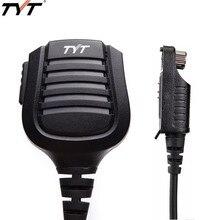TYT MD 2017 PTT водонепроницаемый плечевой динамик микрофон для TYT MD 2017 MD 398 радиочастотная GD 55 DMR цифровая рация