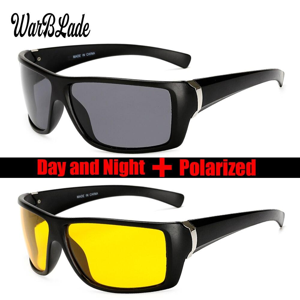 WarBLade 2018 New Polarized Sun Glasses Top Quality Men Sunglasses Driving Fashion Travel Eyewear Br