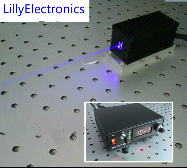 وحدة ليزر صناعية ، 450 نانومتر ، 2000 ميجا واط ، 2 واط ، وحدة TTL/تناظرية 0-30 كيلو هرتز ، تبريد 24 ساعة عمل
