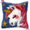 חם תפס וו שטיח ערכות 3d DIY רקמה גמור סורגת שטיח חוט כרית מחצלת Unicorn מלאכת רקמת שטיח שטיח