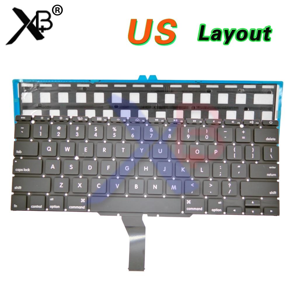 "US keyboard/Backlight Backlit+100pcs keyboard screws For MacBook Air 11.6"" A1370 A1465 2010-2017 Years"