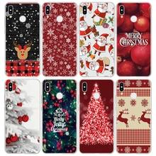 Kerstavond TPU Cover voor Huawei P20 Lite P8 P9 P10 Pro Y6 2017 Mini P Smart Nexus 6p y7 G8 Fundas Voor Huawei Nova 3i Case