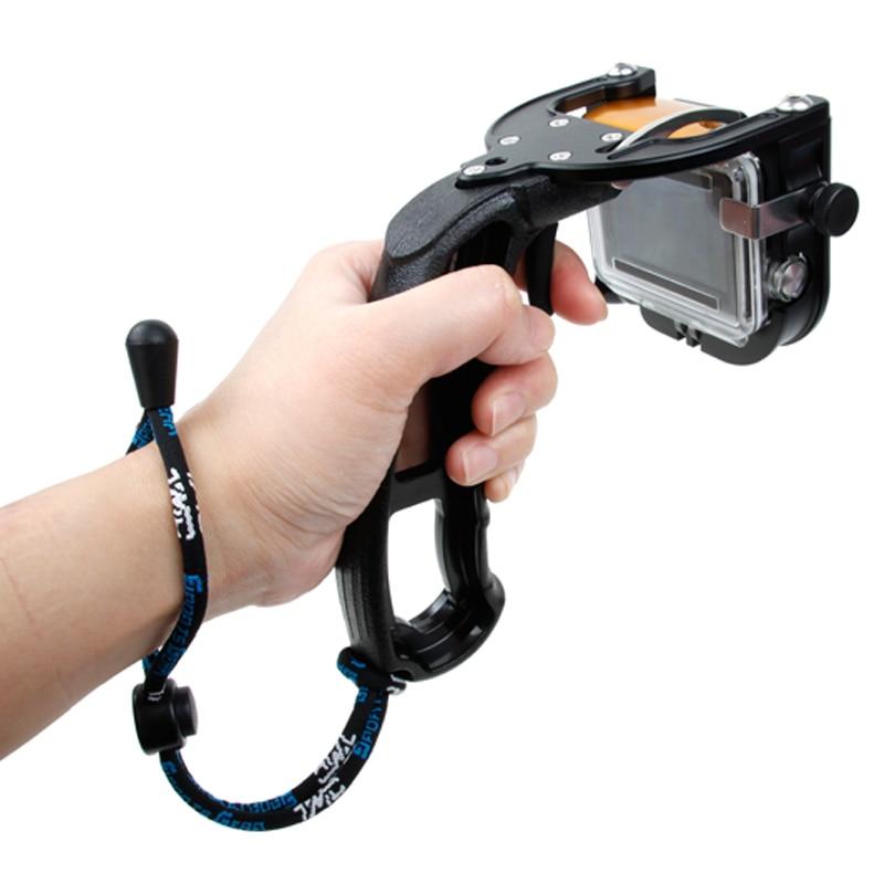 Monopié de Selfie con disparador automático para Gopro, mango de buceo, agarre...