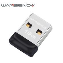 100% de la capacidad plena minúsculo estupendo impermeable USB Flash Drive 32 GB 16 GB 8 GB 4 GB Wansenda pen drive flash pendrive memoria USB stick
