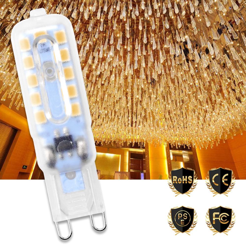 G9 Led 220V Corn Light Lamp 14 22 leds Spotlight Bulb 3W 5W Mini Ampoule 240V Lampada Decoration Ceiling Lighting