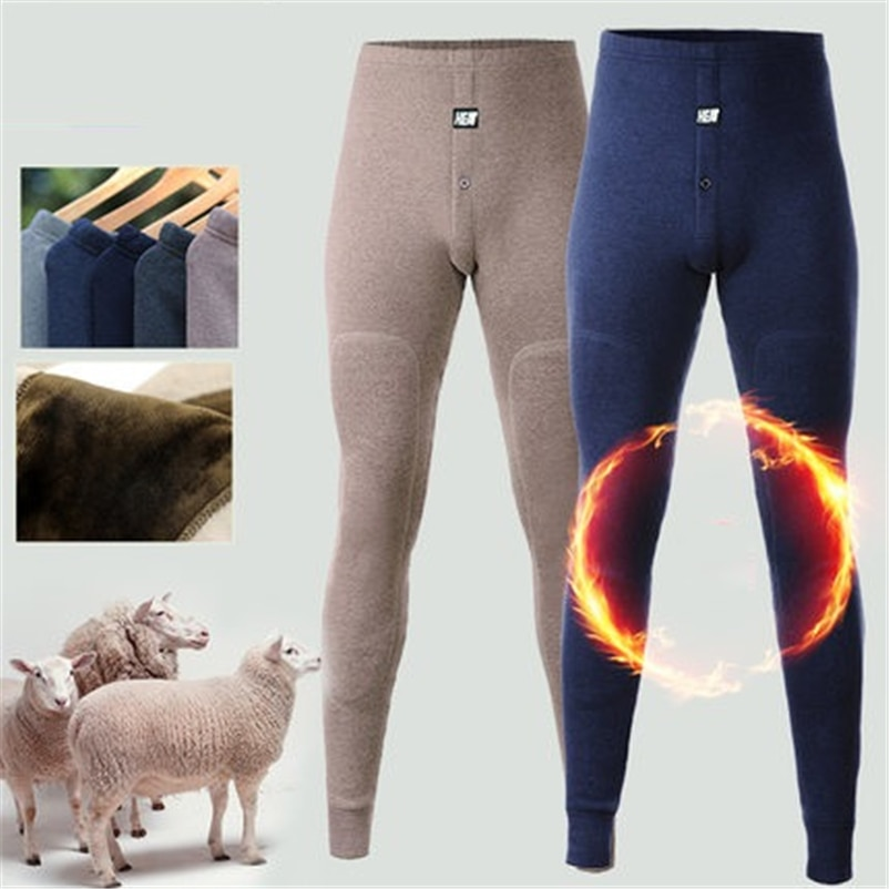2018 New thermal underwear pants thick wear in very cold Winter underpants for Russian Canada and Eu