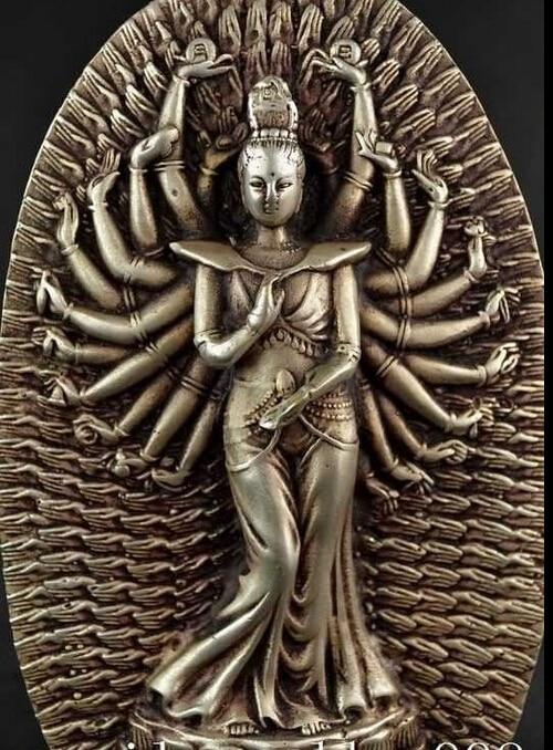 Usine de décoration en bronze   Argent Tibet 7