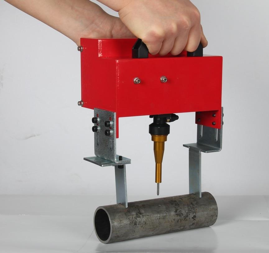 Portable Metal Pneumatic Dot Peen Marking Machine For VIN Code(100*20mm) Frame Marking Machine chassis number 220V/110V