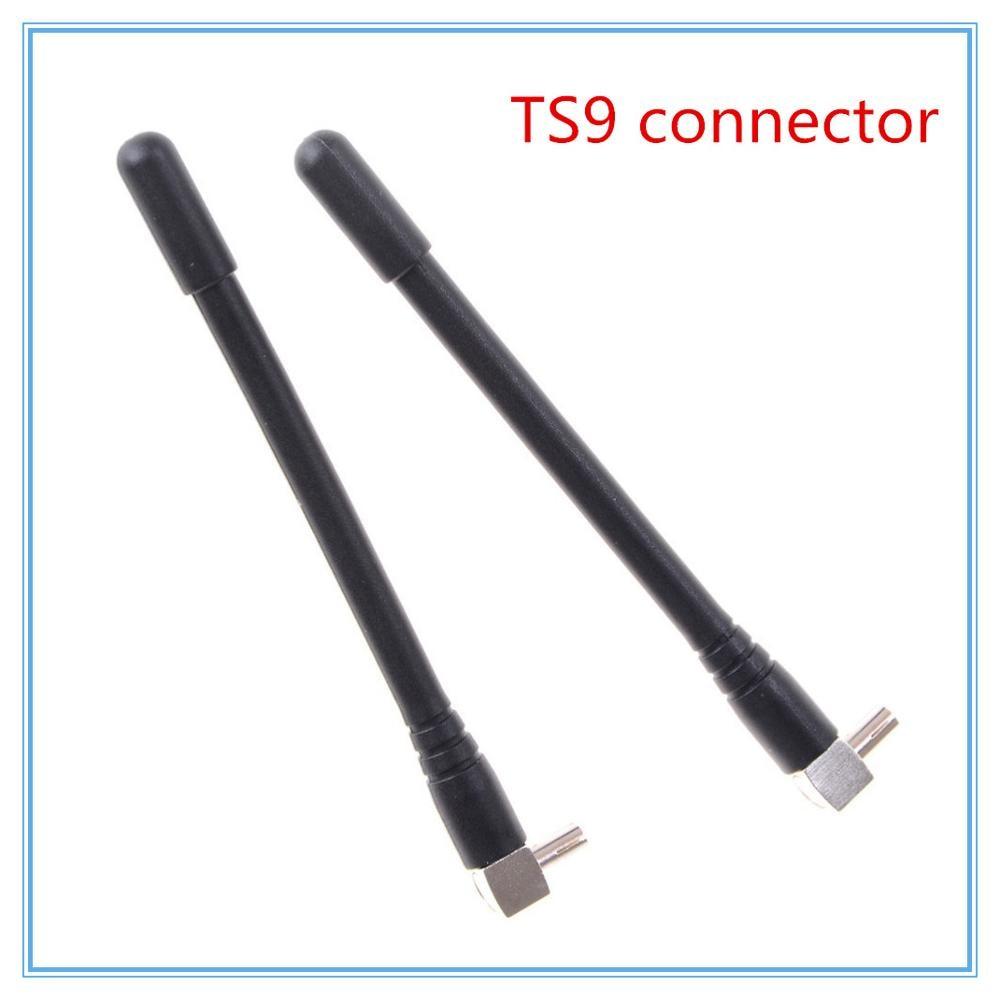 Nuevo 2 uds 4G LTE 5dBi antena TS9 conector para HUAWEI E8372 E5577 E5573 E5577 y más
