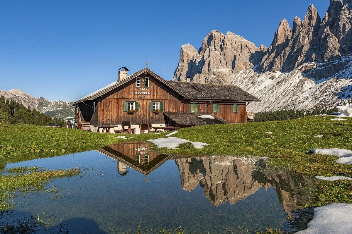 Trentino Alto Adige Italia paisaje PMD187 impresión personalizada pared arte tela póster...