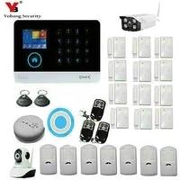 YobangSecurity     systeme dalarme de securite sans fil  wi-fi 3G WCDMA  controle avec application RFID  capteur anti-cambriolage pour maison intelligente  camera IP video