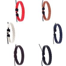 Fashion 2019 Bracelet  Men Women  Retro Simple Fashion Handmade Hemp Rope Woven Jewelry bacelets Fas