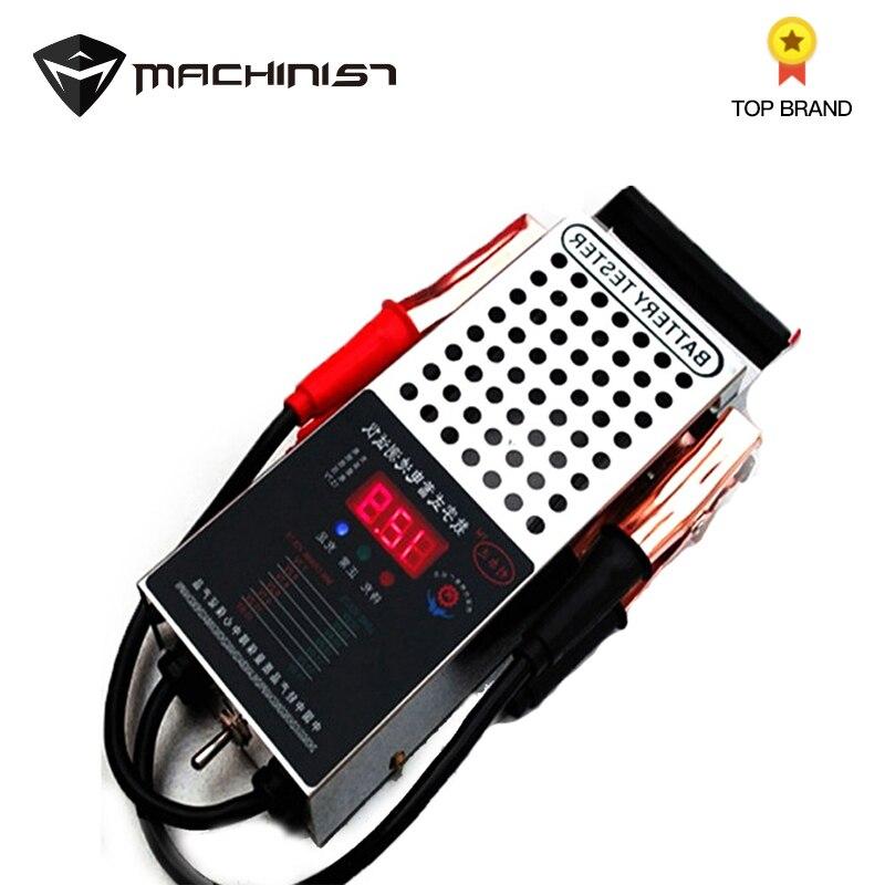 Verificador bonde da capacidade da bateria do verificador da bateria do carro 6v 12v da descarga da bateria