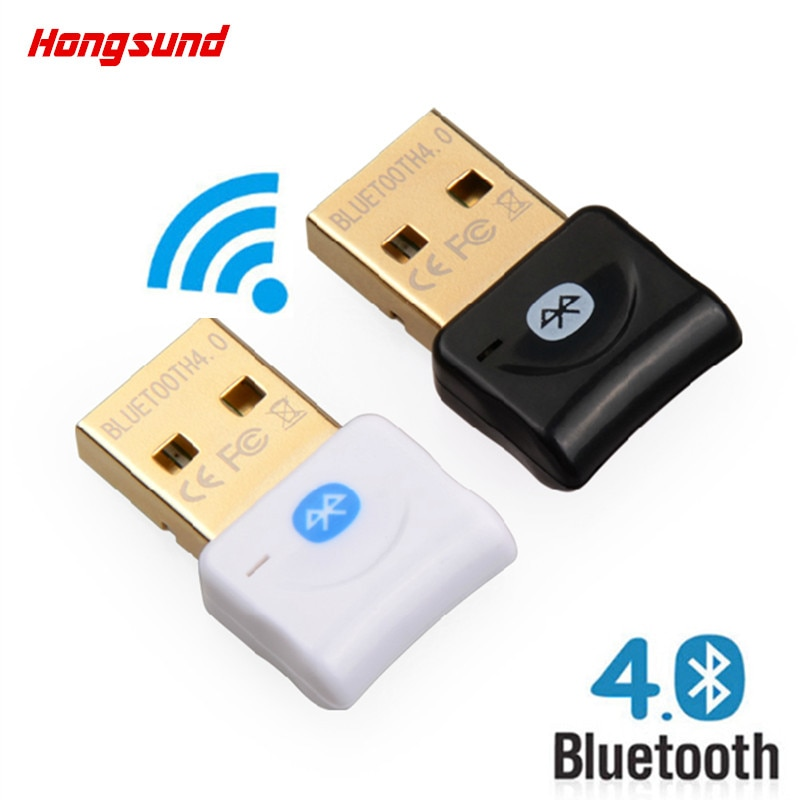 Hongsund V4.0 Adaptador Bluetooth USB Sem Fio Bluetooth Dongle Música Adaptador Transmissor Receptor de Som Para Computador PC Portátil